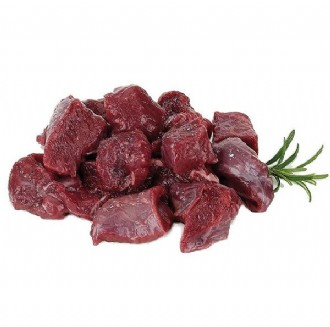 VENISON FROZEN -  DICED 2.5 KILO PACKETS